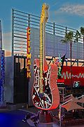 Hard Rock Cafe Restaurant at Universal City Walk in LA