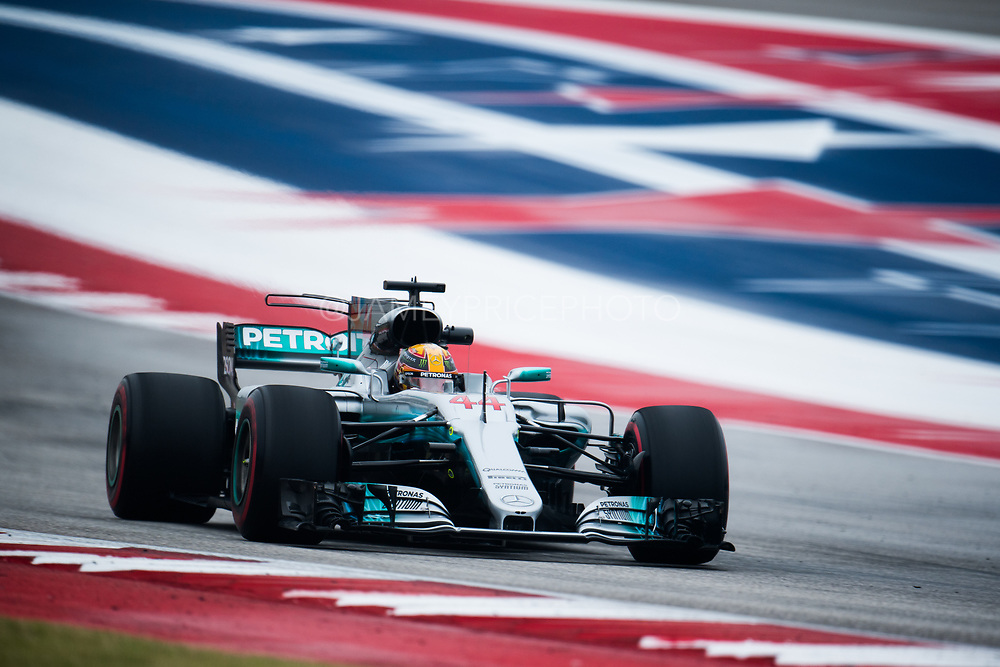 October 19-22, 2017: United States Grand Prix. Lewis Hamilton (GBR), Mercedes AMG Petronas Motorsport, F1 W08
