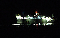 INDIAN OCEAN 26MAR13 - Nightly encounter with a Taiwanese longline fishing vessel Guan Wang (BJ 4782) with Kaohsiung as its home port in the Indian Ocean. The position of the encounter was at 09°50'3S and 068°51'5E.<br /> <br /> <br /> <br /> The Greenpeace ship Esperanza is on patrol in the Indian ocean documenting illegal fishing vessels.<br /> <br /> <br /> <br /> jre/Photo by Jiri Rezac / Greenpeace