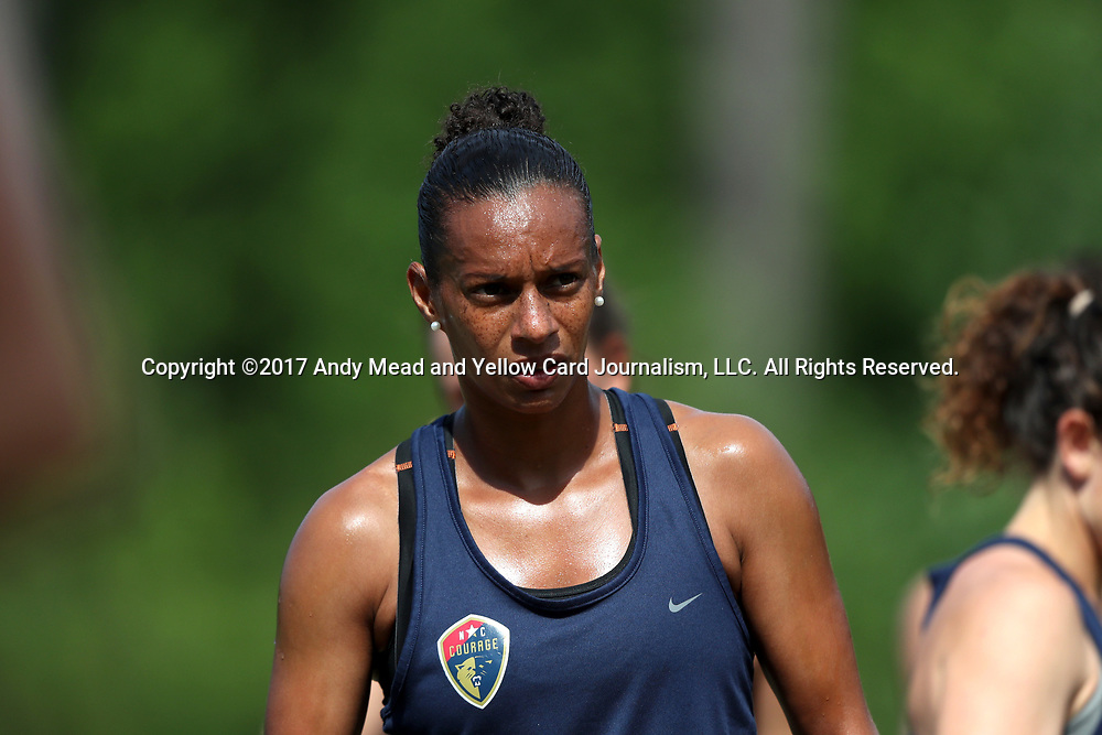 CARY, NC - MAY 04: Rosana. The North Carolina Courage held a training session on May 4, 2017, at WakeMed Soccer Park Field 6 in Cary, NC.