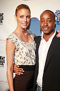 l to r: Paige Butcher and Adair Curtis at The Rush Philanthropic 2nd Annual Gold Rush Awards Presented by Danny Simmons and Russell Simmons which was held at The Red Bull Space on March 18, 2010 in New York City. Terrence Jennings/Retna..The Gold Rush Awards celebrates and recognizes trailblazers in the Arts Industry who shape contemporary arts and culture across creative disciplines.