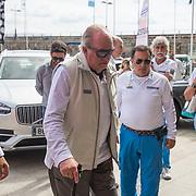 Primera jornada de la IV Regata Rey Juan Carlos I El Corte Inglés Máster que se disputa en Sanxenxo del 21 al 23 de septiembre.
