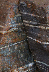 Striated Rocks, North Cascades National Park, Washington, US