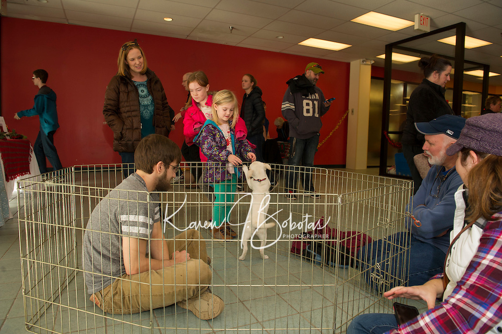 Adopt a thon with the NH Humane Society at the Belknap Mall.    Karen Bobotas for the Laconia Daily Sun