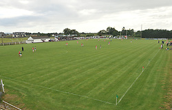 A view of the Kilmaine pitch as the Padraig O'Dea Memorial match took place between Kilmaine and Kingdom Kerry Gaels.<br /> Pic Conor McKeown