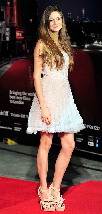 © Licensed to London News Pictures. 20/10/2011. London,England. Shailene Woodley attends the UK Premiere of The Descendants at the 55th British Film Festival in London  Photo credit : ALAN ROXBOROUGH/LNP