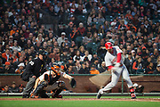 The San Francisco Giants host the Cincinnati Reds at AT&T Park in San Francisco, California, on May 11, 2017. (Stan Olszewski/Special to S.F. Examiner)