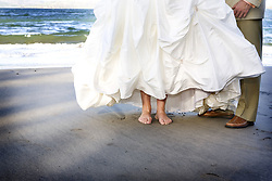 July 21, 2019 - Bride And Groom On The Beach (Credit Image: © Caley Tse/Design Pics via ZUMA Wire)