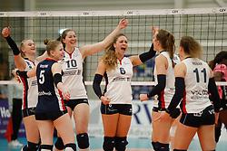 20180110 NED: CEV CUP Sliedrecht Sport - Beziers Angels VB: Sliedrecht<br />Vreugde bij Sliedrecht Sport, oa Carlijn Ghijssen- Jans (10), Fleur Savelkoel (6) of Sliedrecht Sport <br />©2018-FotoHoogendoorn.nl / Pim Waslander