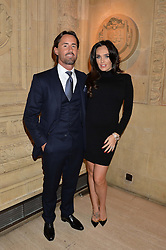 TAMARA ECCLESTONE and JAY RUTLAND at the opening night of Cirque du Soleil's award-winning production of Quidam at the Royal Albert Hall, London on 7th January 2014.