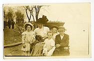 Series of photos from a family of Cairo, Illinois.