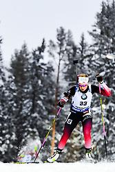 March 8, 2019 - –Stersund, Sweden - 190308 Ingrid Landmark Tandrevold of Norway competes in the Women's 7.5 KM sprint during the IBU World Championships Biathlon on March 8, 2019 in Östersund..Photo: Petter Arvidson / BILDBYRÃ…N / kod PA / 92247 (Credit Image: © Petter Arvidson/Bildbyran via ZUMA Press)