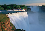 New York, American Falls at Niagara Falls State Park, America's oldest state park, founded in 1885