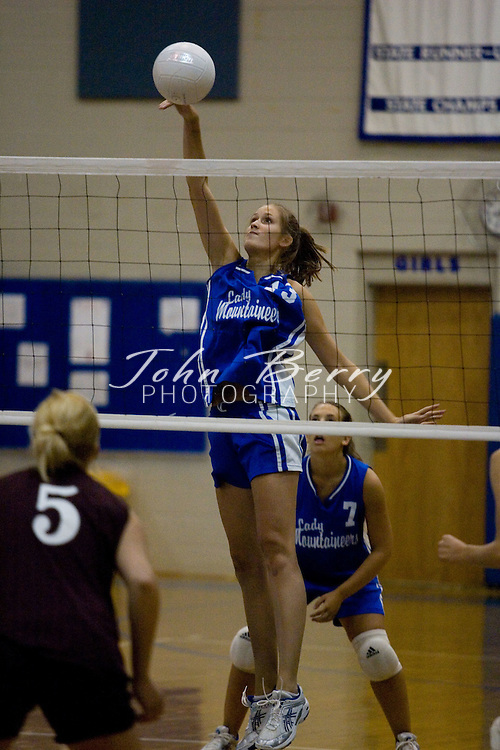 MCHS Varsity Volleyball..Madison (3) vs Luray (2)..September 15, 2005