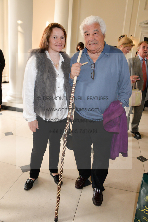 ANTONIO CARLUCCIO and SABINE STEVENSON at the opening party for elBulli: Ferran Adria and The Art of Food - an exhibition at Somerset House, London on 4th July 2013.