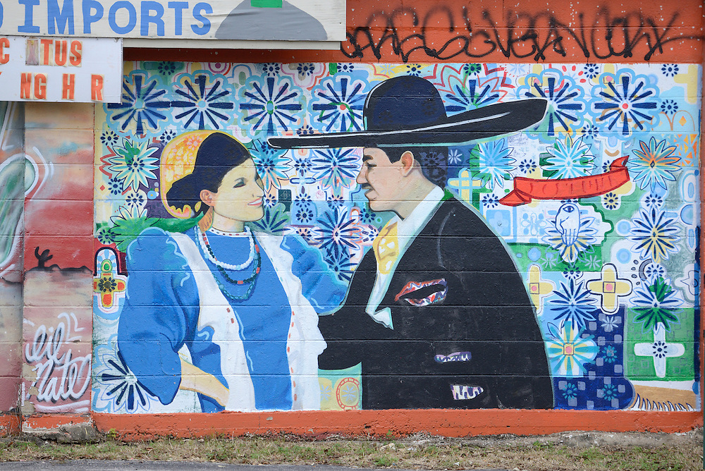 Latin Mural,City of Austin, Texas, USA