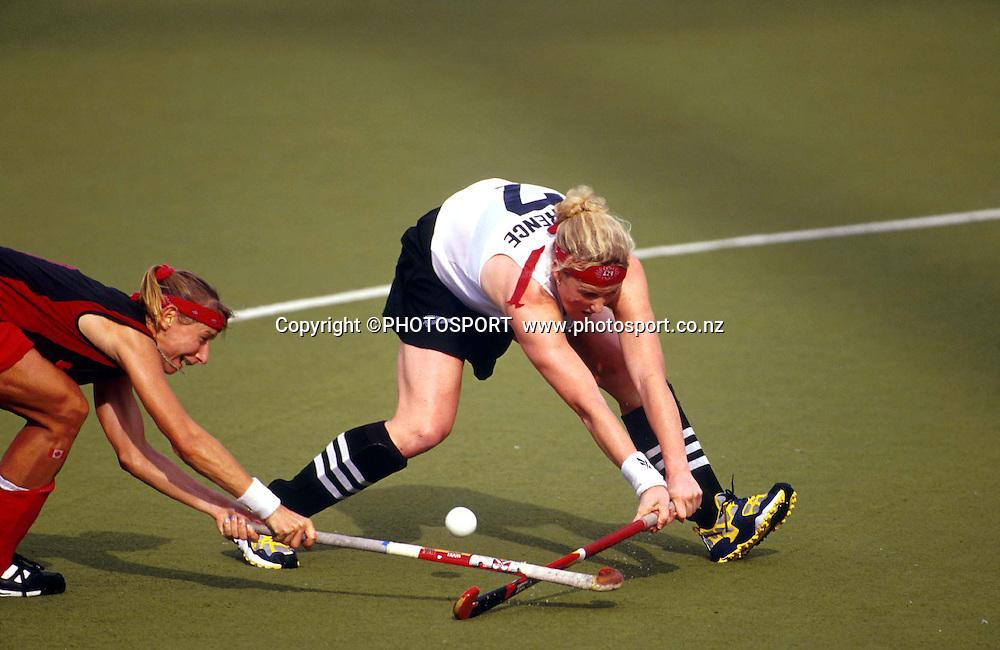 Anna Lawrence, NZ womens hockey. Commonwealth Games 1998. PHOTOSPORT