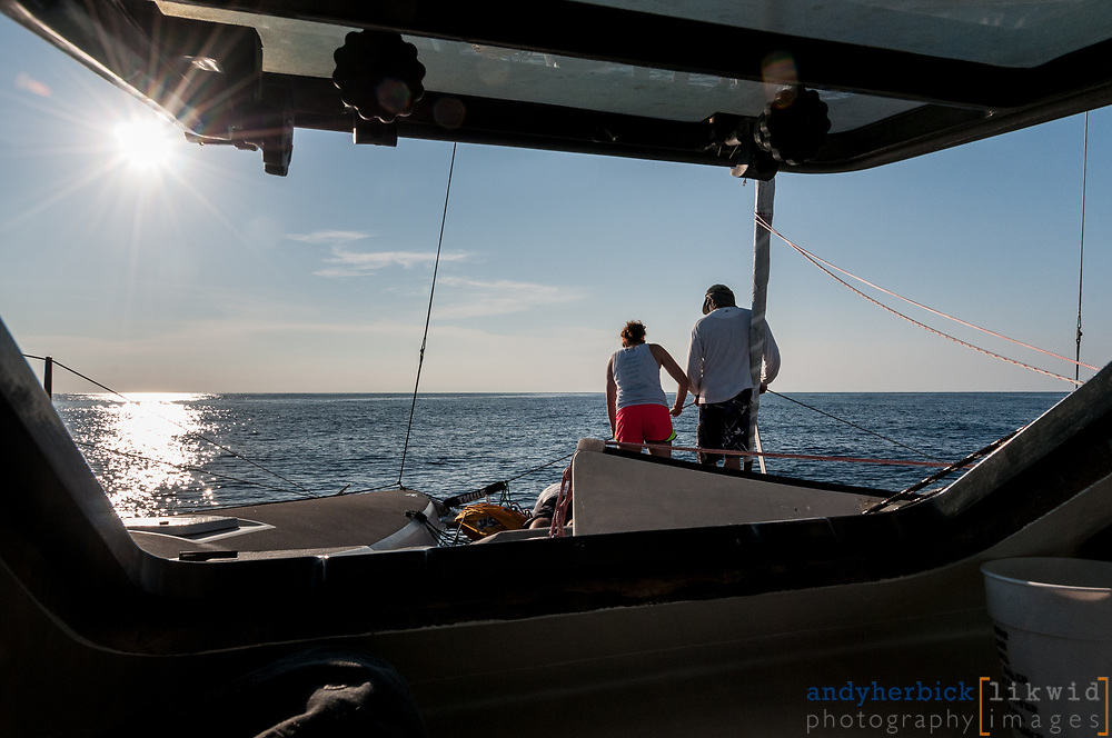 JUNE 9, 2014 - Atlantic Ocean, FL, USA - Onboard images taken during the delivery of S/V Raekved from the Florida Keys to Annapolis, MD. - IMAGE © 2014 Andy Herbick | www.andyherbickphotography.com - ALL RIGHTS RESERVED.