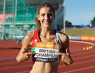 British Athletics Championships 040715
