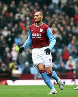Photo: Mark Stephenson/Sportsbeat Images.<br /> Aston Villa v Portsmouth. The FA Barclays Premiership. 08/12/2007.Villa's John Carew