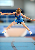 20 Aug 2016:  Matt Spollen, from Kildare, performs in the U9 Gymnastics.   2016 Community Games National Festival 2016.  Athlone Institute of Technology, Athlone, Co. Westmeath. Picture: Caroline Quinn