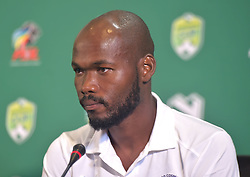 SOUTH AFRICA: JOHANNESBURG: Jomo Sono captain Ange Lebahi, speak during the Nedbank cup press conference, Gauteng. <br /> Picture: Itumeleng English/African News Agency(ANA)<br /> 23.01.2019