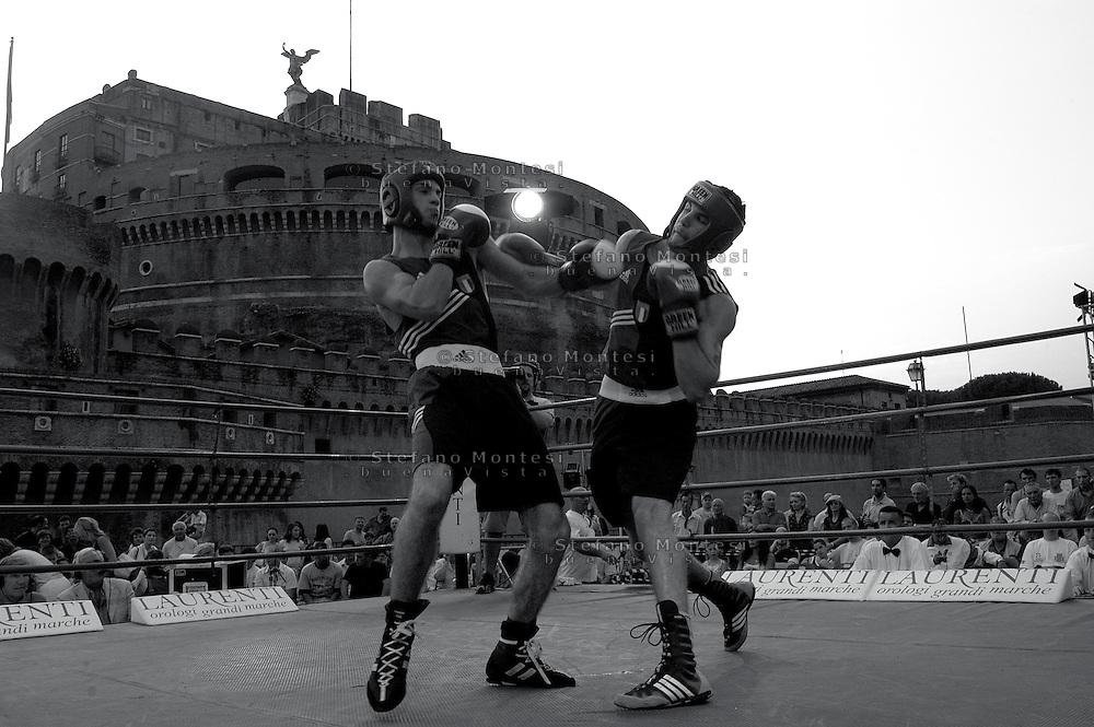 Roma 10 Giugno 2006.Castel Sant'Angelo.Campionato Europeo Juniores di Pugilato