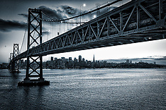 San Francisco Cityscapes from Treasure Island Marin Headlands Golden Gate Bridge