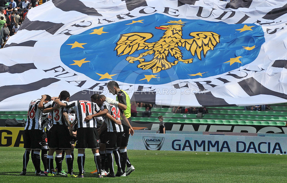 Udine, 05 maggio 2013..Campionato di calcio Serie A 2012/2013.  35^ giornata. Stadio Friuli..Udinese vs Sampdoria..Nella foto: Udinese..© foto di Simone Ferraro