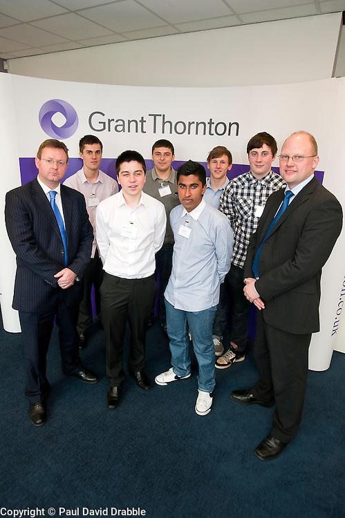 Grant Thornton Business Awareness Day.http://www.pauldaviddrabble.co.uk.4 April 2012 .Image © Paul David Drabble