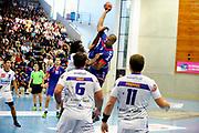 DESCRIZIONE : Handball Tournoi de Cesson Homme<br /> GIOCATORE : CLAIRE Nicolas<br /> SQUADRA : Paris Handball<br /> EVENTO : Tournoi de cesson<br /> GARA : Paris Handball Selestat<br /> DATA : 06 09 2012<br /> CATEGORIA : Handball Homme<br /> SPORT : Handball<br /> AUTORE : JF Molliere <br /> Galleria : France Hand 2012-2013 Action<br /> Fotonotizia : Tournoi de Cesson Homme<br /> Predefinita :