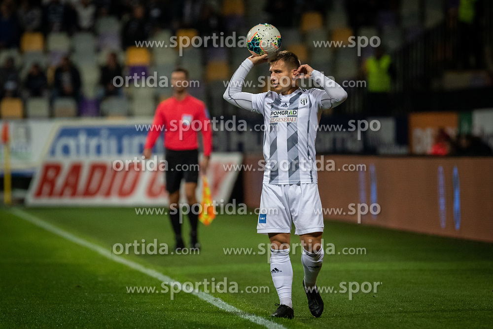 Klemen Šturm of Mura during football match between NK Maribor and NŠ Mura in 13th Round of Prva liga Telekom Slovenije 2019/20, on October 5, 2019 in Ljudski Vrt, Maribor, Slovenia. Photo by Blaž Weindorfer / Sportida