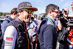 February 26, 2019 - Barcelona, Barcelona, Spain - Fernando Alonso fom Spain of Mclaren F1 Team - Renault MCL34 portrait with his manager Luis Garcia Abad portrait during the Formula 1 2019 Pre-Season Tests at Circuit de Barcelona - Catalunya in Montmelo, Spain on February 26. (Credit Image: © AFP7 via ZUMA Wire)