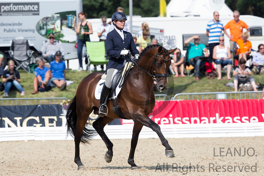 Erika Szeicz - Son of Glory OLD<br /> FEI World Breeding Dressage Championships for Young Horses 2012<br /> © DigiShots
