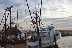 fishing boats in Hampton Bays, Long Island