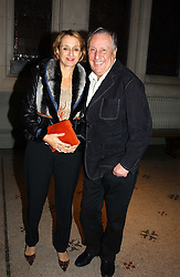 Writer FREDERICK FORSYTH and his wife SANDY at a party to celebrate the publication of 'You Are Here' by Rory Bremner, Juhn Bird and John Fortune held at the National Portrait Gallery, St.Martin's Place, London on 1st November 2004.<br /><br />NON EXCLUSIVE - WORLD RIGHTS