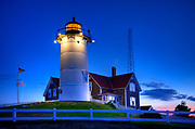 Nobska Lighthouse, Woods Hole, Foulmouth, Cape Cod, MA, USA