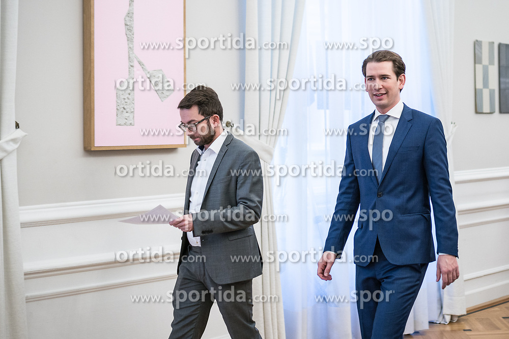 08.01.2020, Bundeskanzleramt, Wien, AUT, Sitzung des Ministerrats, im Bild Sebastian Kurz (OeVP) // cabinet meeting at the federal chancellery in Vienna, Austria on 2020/01/08. EXPA Pictures © 2020, PhotoCredit: EXPA/ Florian Schroetter