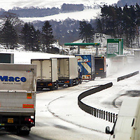 Snow 27.2.2001.<br />