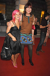 Left to right, LILY ALLEN and JANET STREET-PORTER at the Royal Academy of Art Summer Exhibition Preview Party on 4th June 2008.<br />