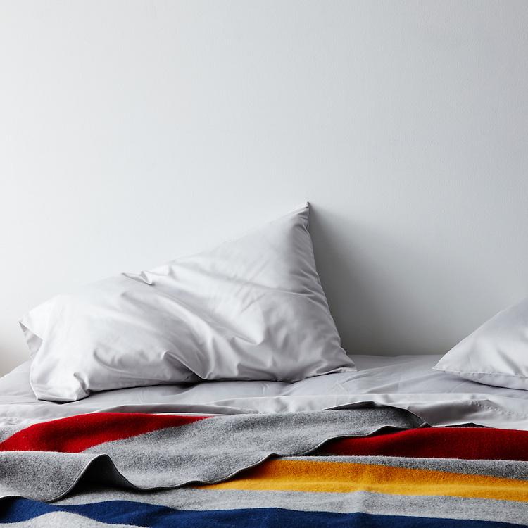 faribault revival stripe queen blanket
