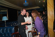 CHRIS MARTIN; BELLA FREUD; STELLA MCCARTNEY, The Hoping Foundation  'Rock On' benefit evening for Palestinian refugee children.  Cafe de Paris, Leicester Sq. London. 20 June 2013
