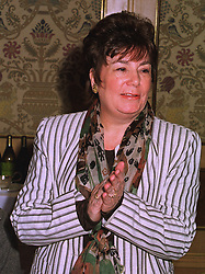 LADY ARABELLA RUSSELL-SACKETT social editor of OK! magazine, at a luncheon in London on 11th December 1997.MEF 37