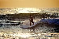 Wesley Francis on dawn patrol in Virginia Beach, VA near 42nd St.