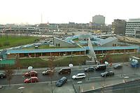 12 DEC 2003, BERLIN/GERMANY:<br /> Kindergarten des Deutschen Bundestages, aus dem Paul-Loebe-Haus gesehen<br /> IMAGE: 20031212-02-012