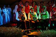 25 Jahre Jodelclub Körblifluh Jaun; Soirée de jubilée des 25 ans du Jodelclub Körblifluh; La Villette, 2009. © Romano P. Riedo