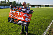 during the Vanarama National League Play Off second leg match between Forest Green Rovers and Dagenham and Redbridge at the New Lawn, Forest Green, United Kingdom on 7 May 2017. Photo by Shane Healey.