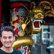 NLD/Amsterdam/20170330 - Perspresentatie Peking Express 2017, Rik van Westelaken