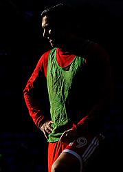 Stewart Downing of Middlesbrough warms up - Mandatory by-line: Nizaam Jones/JMP - 17/02/2018 -  FOOTBALL - Cardiff City Stadium - Cardiff, Wales -  Cardiff City v Middlesbrough - Sky Bet Championship