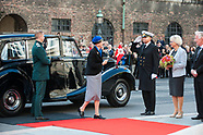 Danish Royal Family attended the opening session of the Parliament